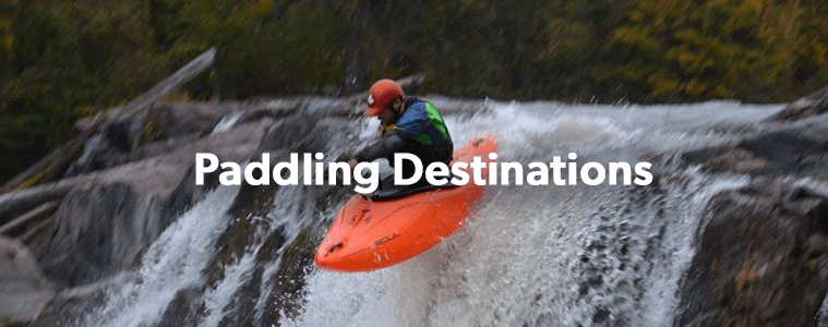 Water Levels / Paddling Destinations