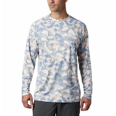 Columbia Columbia Terminal Deflector Printed LS Shirt Men's