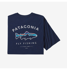 Patagonia Patagonia Framed Fitz Roy Trout Organic Cotton T-Shirt Men's