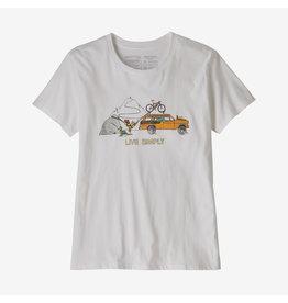 Patagonia Patagonia Live Simply Lounger Organic Crew T-Shirt Women's