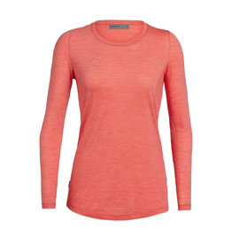 Icebreaker Icebreaker Cool-Lite Sphere Long Sleeve Low Crewe Top Women's