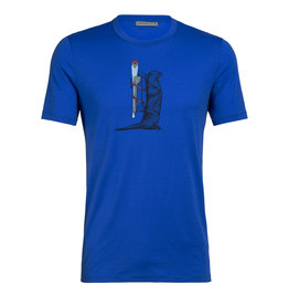 Icebreaker Icebreaker Tech Lite Short Sleeve Crewe Otter Paddle Tee Men's