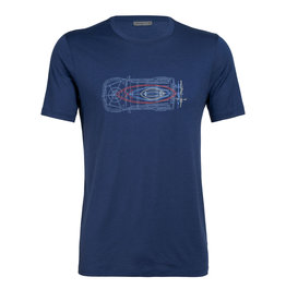 Icebreaker Icebreaker Tech Lite Short Sleeve Crewe Wireframe Tee Men's