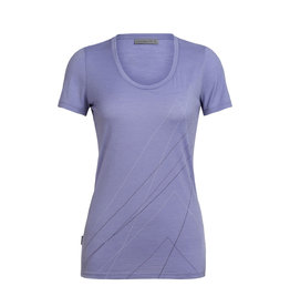 Icebreaker Icebreaker Tech Lite Short Sleeve Scoop Pinnacle Tees Women's
