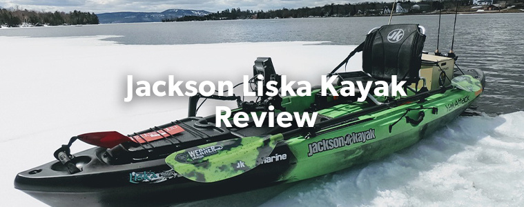 It's been a little over a year now since I picked up a new Jackson Kayak 'Liska' from Trailhead Paddle Shack. I was looking for a simple kayak, and in the Liska I found it. A great all-around boat, perfect for the lakes and rivers I fish throughout the Eastern Ontario region. There 3 key areas in which make the Liska WICKED; Stability, Comfort and Fishability. Let's explore these further.