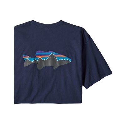 Patagonia Patagonia Fitz Roy Smallmouth Responsibili-Tee Men's (Past Season)