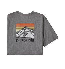Patagonia Patagonia Line Logo Ridge Pocket Responsibili-Tee Men's (Past Season)