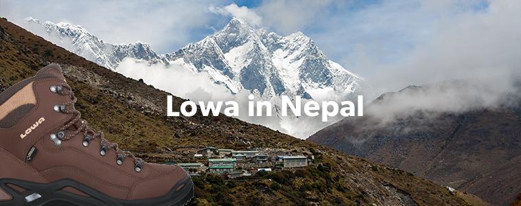 Lowa in Nepal