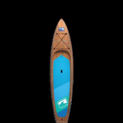 Blu Wave Board Co Blu Wave The Armada 11.6 Touring SUP, Wood Finish