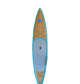 Blu Wave Board Co Blu Wave Catalina 12.6 SUP, Aqua/Pine