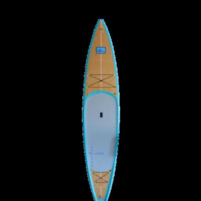 Blu Wave Board Co Blu Wave Catalina 12.6 SUP, Aqua/Pine