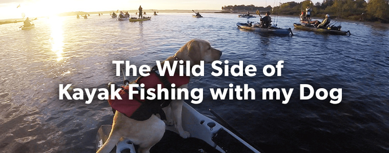 The Wild Side of Kayak Fishing with my Dog