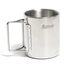 Chinook Chinook Timberline Double-Walled Mug with Folding Handle