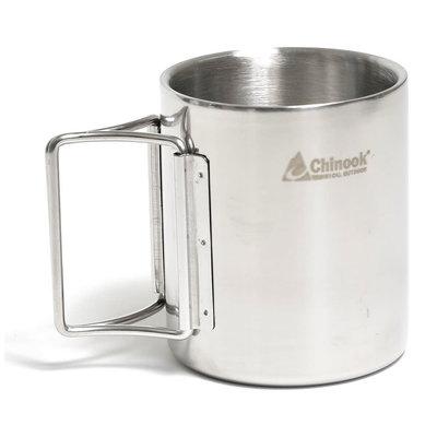 Chinook Chinook Timberline Double-Walled Mug with Folding Handle