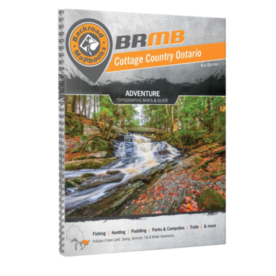 Backroad Mapbooks Backroad Mapbooks Cottage Country Ontario 6th Edition
