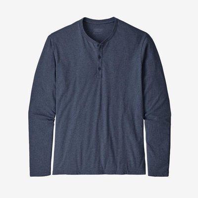 Patagonia Patagonia Long Sleeve Organic Cotton Lightweight Henley Pullover Men's