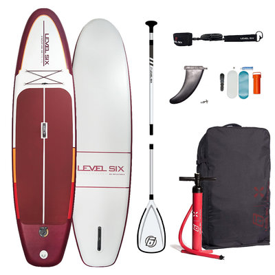 Level Six Level Six Ten Six HD Inflatable SUP Board Package