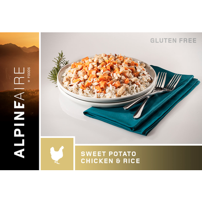 AlpineAire Foods Alpineaire Sweet Potato Chicken and Rice