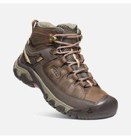 Keen Keen Targhee III Mid Leather WTPF Hiking Boot Womens Bungee Cord