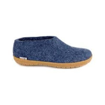 Glerup Glerup Felt  Shoe Natural Rubber Sole