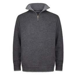 Irelands Eye Irelands Eye Half Zip Sweater Men's