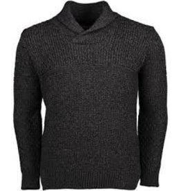 Irelands Eye Irelands Eye Fanore Textured Shawl Collar Sweater Men's