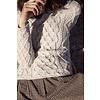 Irelands Eye Irelands Eye Lambay Lattice Cable Aran Sweater Women's