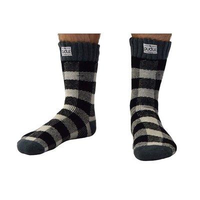 Pudus Pudus Lumberjack Boot Socks-Short