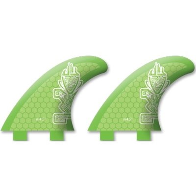 Starboard SUP Starboard Sup Light Core M4.5 Bio Resin FCS Fins (Pair)