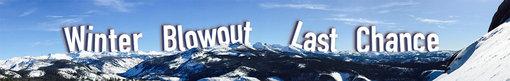Winter Blowout