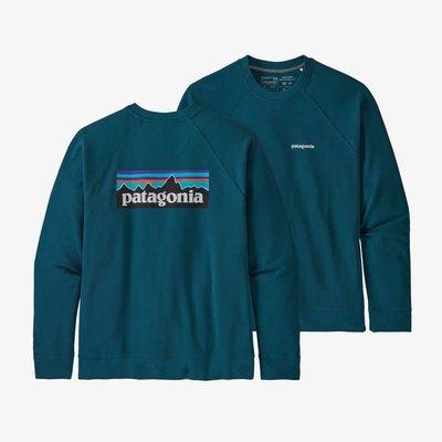 Patagonia Patagonia P-6 Logo Organic Crew  Sweatshirt Men's