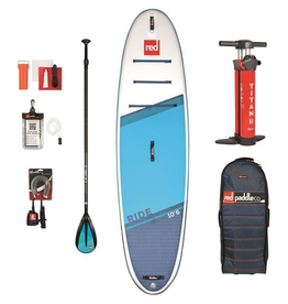 "Red Paddle Co Red Paddle Co 10'6"" Ride Inflatable SUP Package w/ Alloy 3pc Paddle 2021"