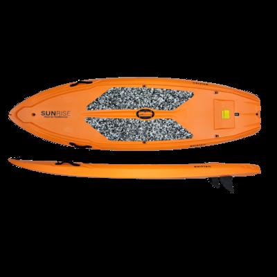 "Sunrise Stand Up Paddleboards Sunrise SUP 9'6"" x 36"" Whiptail"