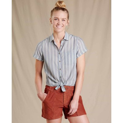 Toad & Co. Toad & Co. Airbrush Tie Short Sleeve Shirt Women's