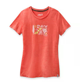 Smartwool Smartwool Merino Sport 150 Spring Leaves Graphic Tee Women's