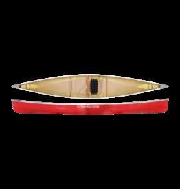 "Trailhead Canoes Trailhead Canoes Madawaska 15'8"" Solo Canoe, Kevlar, Red w/ detachable yoke"