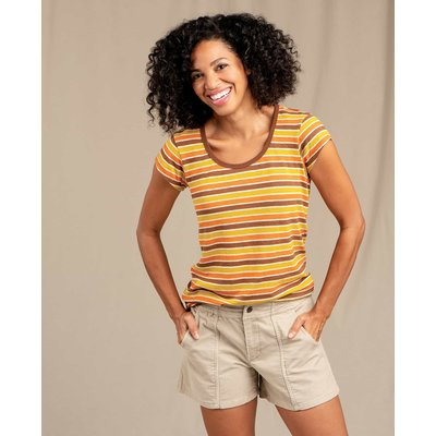 Toad & Co. Toad & Co. Grom Ringer Short Sleeve Tee Women's