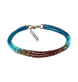Sherpa Sherpa Mayalu Three Wire Bracelet