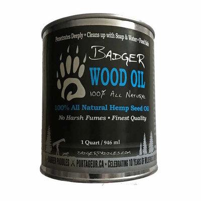 Badger Paddles Badger Wood Oil - 1 QT Tin
