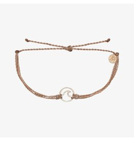 Pura Vida Pura Vida Wave Rose Gold Bracelet