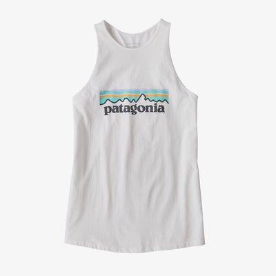 Patagonia Patagonia Pastel P-6 Logo Organic Cotton High Neck Tank Top Women's