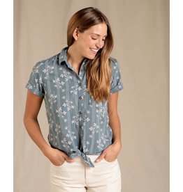 Toad & Co. Toad & Co. Willet Tie Short Sleeve Shirt Women's