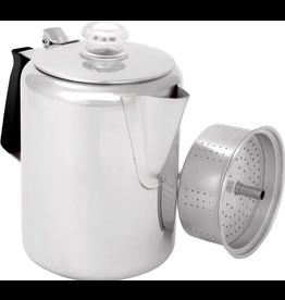 GSI GSI Glacier Stainless Steel 9 Cup Coffee Percolator