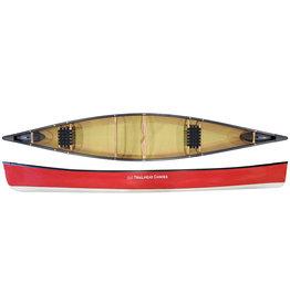 Trailhead Canoes Trailhead Canoes Calabogie 16 Kevlar Ultralite, Vinyl Trim, Two-Tone White Bottom