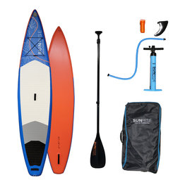"""Sunrise Stand Up Paddleboards Sunrise 12'2"""" x 32"""" Grand Cayman Inflatable SUP w/ Paddle"""