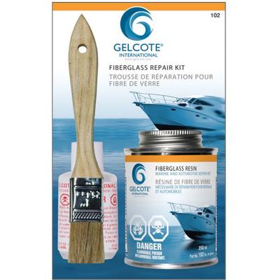Gelcote International Gelcote International Fiberglass Repair Kit, 250ml
