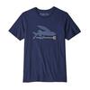 Patagonia Patagonia Flying Fish Organic T-Shirt Men's