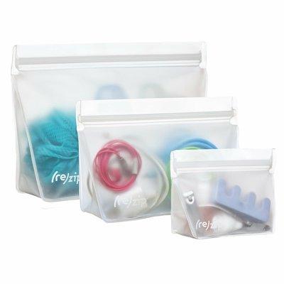 (re)zip (re)zip Reusable Stand-Up Leak-Proof Bag 3pk