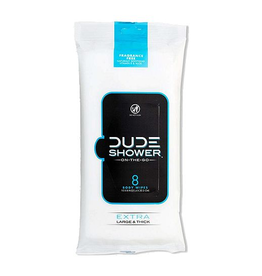 Dude Wipes Dude Wipes Dude Shower Full Body Wipes