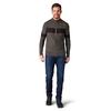 Smartwool Smartwool Ripple Ridge Stripe Half Zip Knit Sweater Men's
